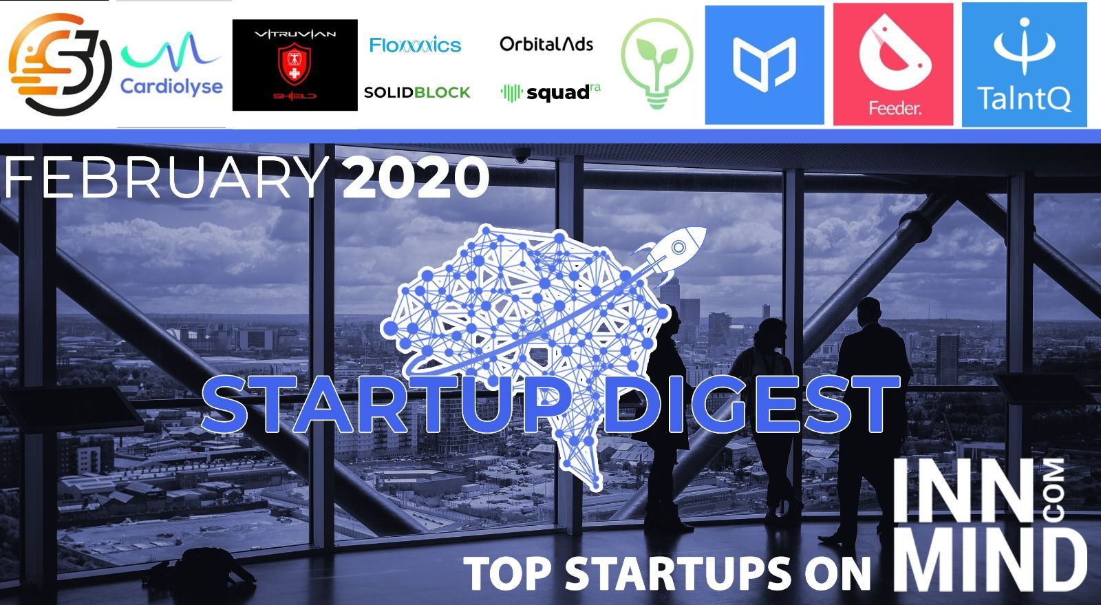 February 2021 Startup Digest: Top Startups on InnMind Platform