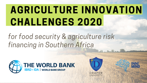 The Winners Are Selected: Announcing the Final Results of 2020 Innovation Challenge for Food Security & Agriculture Risk Financing in Southern Africa