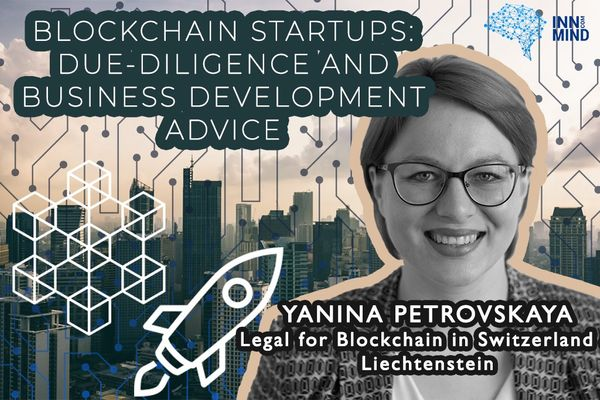 Blockchain startups: due-diligence and business development advice