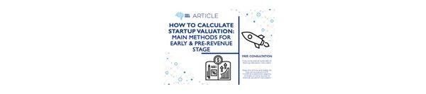 How to calculate startup valuation: principal methods for early & pre-revenue stage