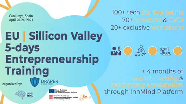 Draper University & InnMind Hold a Virtual Mentorship Session for EU | Sillicon Valley 5-days Entrepreneurship Training Residents